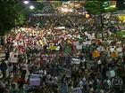 Protestos pelo país reúnem mais de 250 mil pessoas