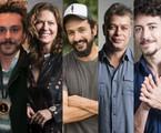 Alexandre Nero, Patrícia Pillar, Irandhir Santos, Fábio Assunção e Jesuíta Barbosa  | TV Globo e Gshow