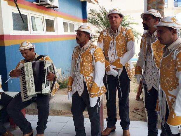Vaqueiros mantém a tradição em Serrita (Foto: Paulo Ricardo Sobral / Tv Grande Rio)