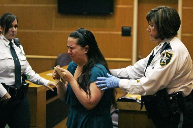 Jennifer Mee foi condenada à prisão perpétua por morte nos EUA (Foto: Scott Keeler/Tampa Bay Times/AP)