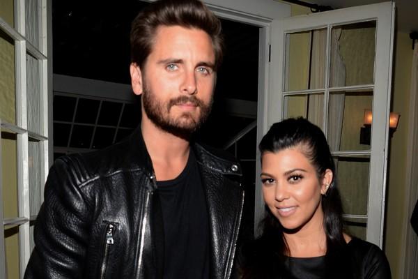 Scott Disick e Kourtney Kardashian (Foto: Getty Images)