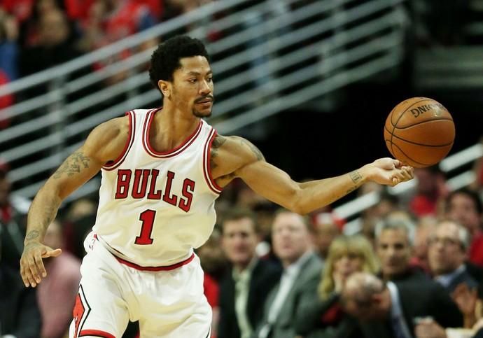 Derrick Rose nba Chicago Bulls (Foto: Jonathan Daniel / Getty Images)