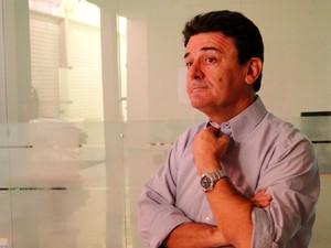 Edivan Martins renunciou presidência da Câmara de Natal (Foto: Rafael Barbosa/G1)