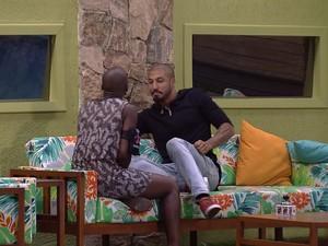 BBB às 23h51m do dia 01/02. (Foto: Big Brother Brasil)