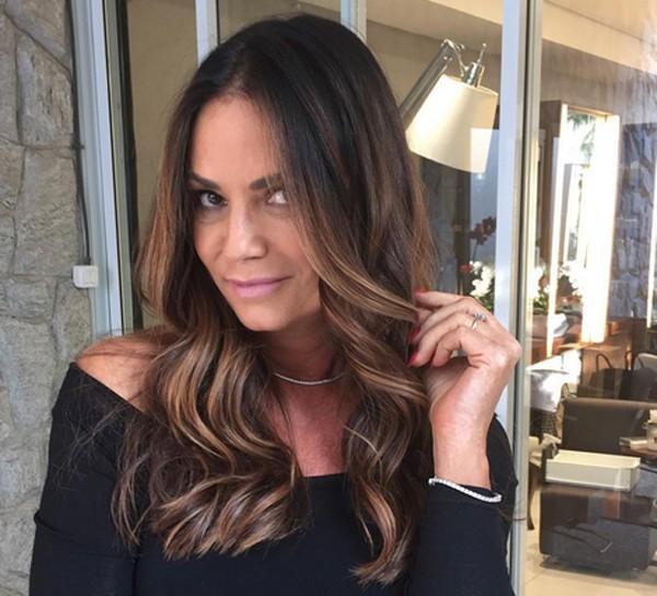 Luiza Brunet denuncia companheiro por agressão (Foto: Reprodução / Instagram)