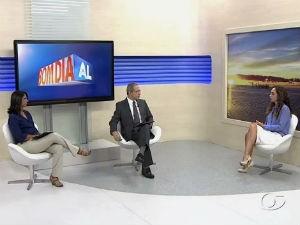 Estúdio Viva Bem fala sobre alimentação para diabéticos  (Foto: Reprodução/TV Gazeta)