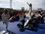 """Vencedor nos EUA, Hamilton admite trauma: """"Passei a corrida preocupado"""""""