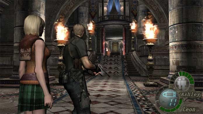 Resident Evil 4 teve mudanças radicais de jogabilidade (Foto: Divulgação/Capcom)