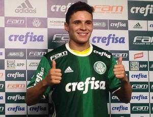 Raphael Veiga Palmeiras (Foto: Rodrigo Faber)
