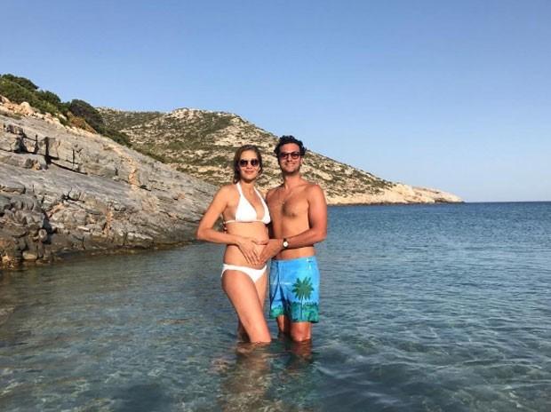 Ana Beatriz Barros e marido (Foto: Reprodução)