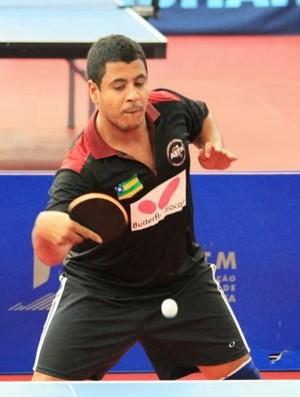 Saulo Correia Campeão da VI etapa do sergipano de tênis de mesa de 2013 (Foto: Divulgação/ASTM)