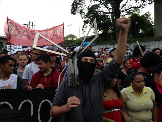 MPL pede mudanças no transporte na Zona Sul de SP (Foto: Marcelo Mora/G1)