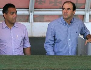 ricardo gomes daniel freitas vasco treino (Foto: Marcelo Sadio / Site Oficial do Vasco)