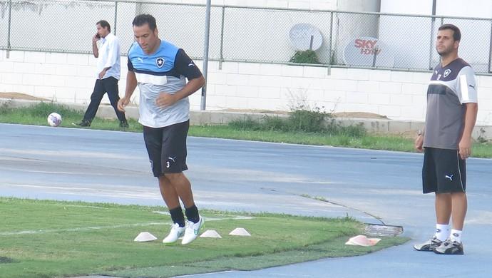 daniel carvalho botafogo treino (Foto: Edgard Maciel de Sá)