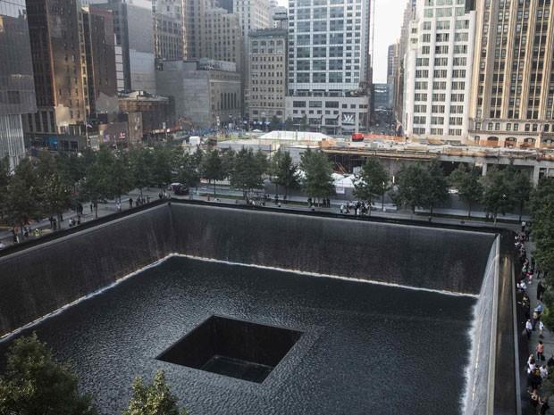 Memorial de 11 de Setembro (Foto: Reuters/Andrew Burton/Pool)
