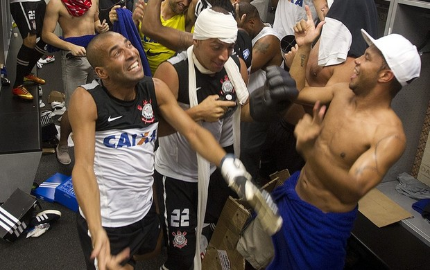 Corinthians Harlem Shake (Foto: Daniel Augusto Jr / Agência Corinthians)