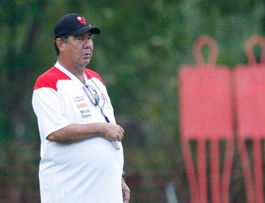 Joel Santana treino do flamengo (Foto: Vipcomm)