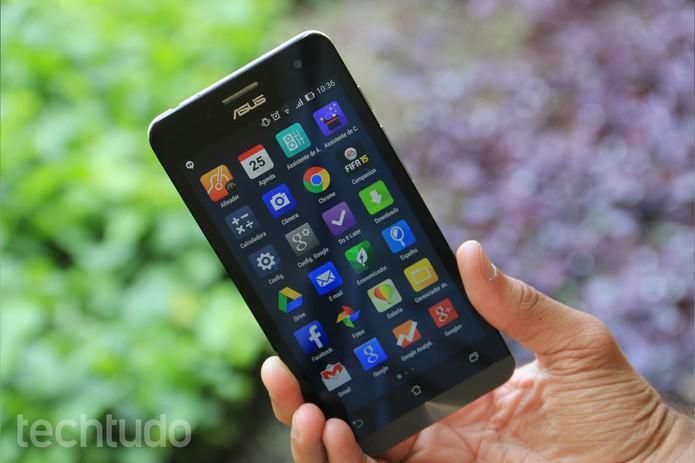 ASUS lança ZenFone 5, smartphone que deve desafia os populares Moto G e Moto X (Foto: Lucas Mendes/TechTudo)