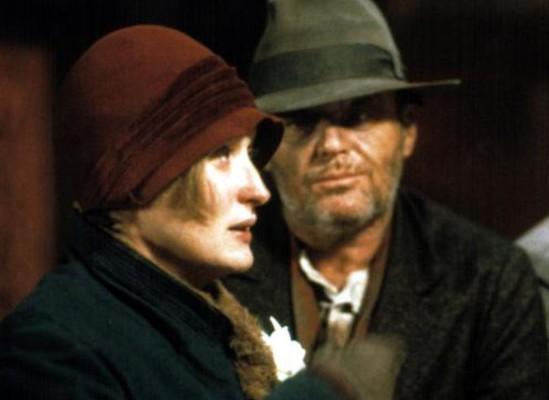 Jack e Meryl foram indicados ao Oscar por Ironweed, de Hector Babenco, em 1988, mas não levaram a estatueta (Foto: Reprodução)