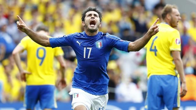 Itália x Suécia - Eurocopa 2016 - globoesporte.com 167fc3cf2cfa5