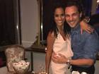 Igor Rickli e Aline Wirley fazem festa para comemorar aniversário