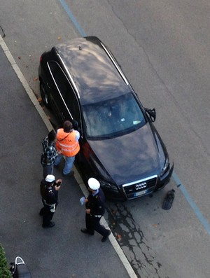 robinho milan batida carro (Foto: http://linus.blog.deejay.it)