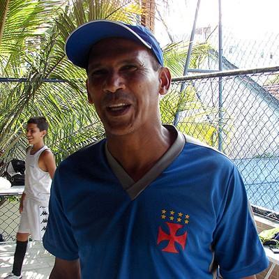 Vivinho, ex-jogador do Vasco (Foto: Fabrício Costa)
