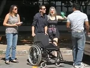 Vídeos foram produzidos para a campanha  (Foto: Reprodução/RBS TV)