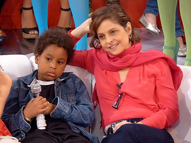 Drica Morais fala do seu imenso amor de mãe pelo filho único (Foto: João Pedro Januário / Gshow)