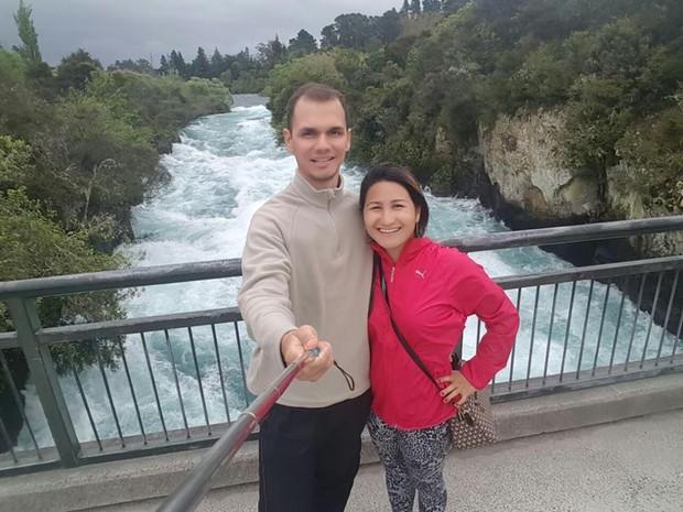 Lucas e Patrícia rodaram mais de 800 quilômetros em cerca de 10 dias (Foto: Arquivo pessoal)