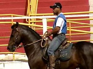 Começa julgamentos raça Mangalarga Marchador na Divinaexpô (Foto: Reprodução/TV Integração)