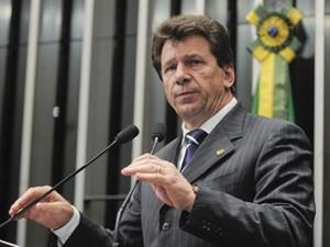 O senador Ivo Cassol (PP-RO), em sessão no plenário (Foto: Waldemir Barreto/Ag.Senado)