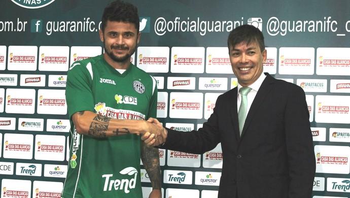 volante Zé Antônio, Guarani, reforço (Foto: Gabriela Del Rio / Guarani FC)