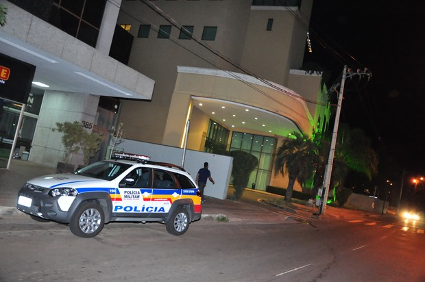 Hotel Caesar Business onde Ana Hickmann sofreu atentado de fã (Foto: Dúnia Catelli / EGO)