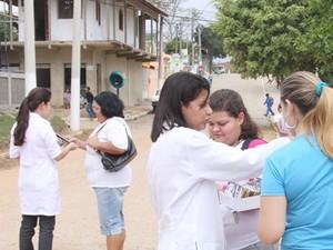Centro de Testagem e Aconselhamento (CTA) Itinerante leva o teste rápido de HIV a várias localidades e distritos de Campos (Foto: Divulgação/Prefeitura de Campos)