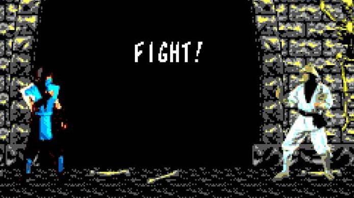 Mortal Kombat do Master System fez o que podia para trazer o clássico ao console 8 Bits (Foto: GameSearch)