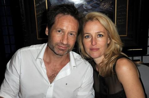 David Duchovny e Gillian Anderson (Foto: Divulgação)
