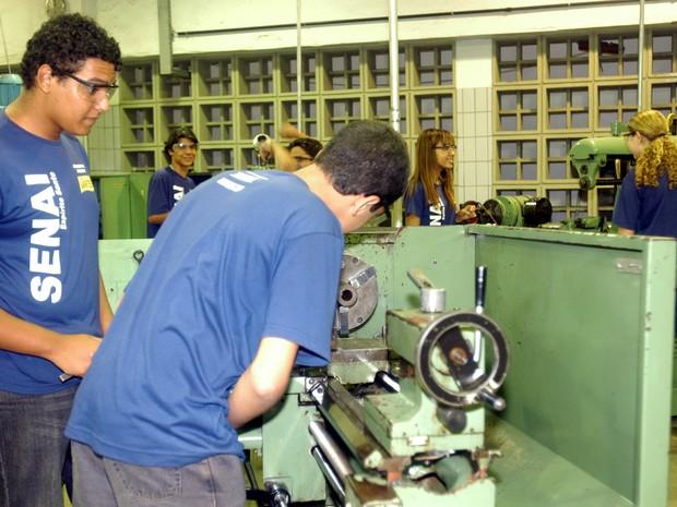 Educação técnica gera oportunidades no Espírito Santo (Foto: Vitor Jubini/A Gazeta)