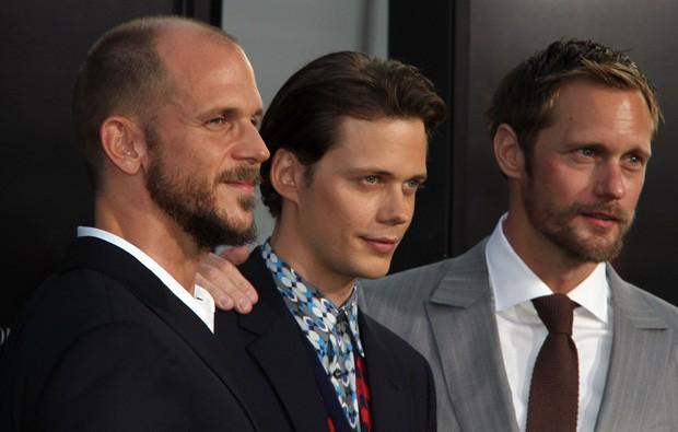 Os irmãos Gustav,. Bill (protagonista de It: A Coisa) e Alexander Skarsgard (Foto: Grosby Group)