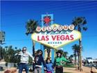 Flávia Alessandra curte Carnaval em Las Vegas com a família