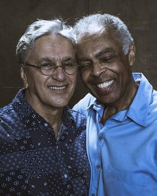 Caetano Veloso e Gilberto Gil (Foto: Lucas Leto/Divulgação )