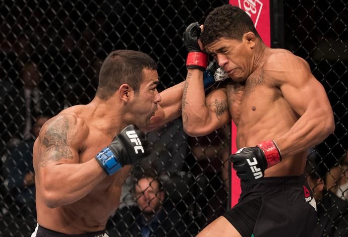Michel Trator Gilbert Durinho UFC Brasília (Foto: Getty Images)