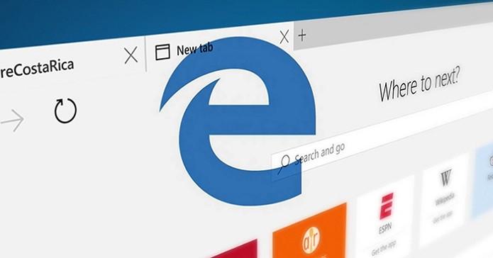 Microsoft Edge é o nov navegador desenvolvido pela Microsoft (Foto: Divulgação/Microsoft)