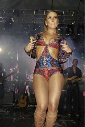 Claudia Leitte em show em Salvador, na Bahia (Foto: Fred Pontes/ Divulgação)