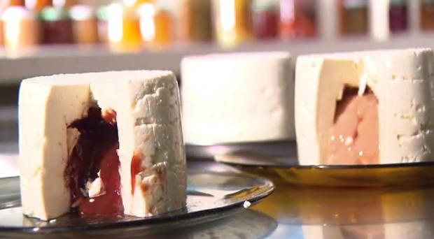 Se queijo é bom, imagina trufado! (Foto: Reprodução/RPC)