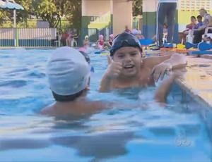 6º Torneio Amazônia Ocidental de Natação (Foto: Reprodução/TV Rondônia)