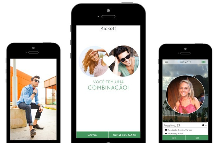 Kickoff permite juntar pessoas com gostos semelhantes para um relacionamento sério (Foto: Divulgação/Kickoff)