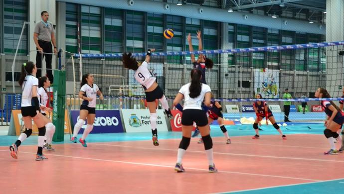 Voleibol do Amazonas nos Jogos Escolares (Foto: Divulgação/Sejel)