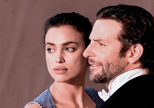 Irina Shayk e Bradley Cooper. (Foto: Getty Images, Reprodução/instagram Gil Inoue e Divulgação)