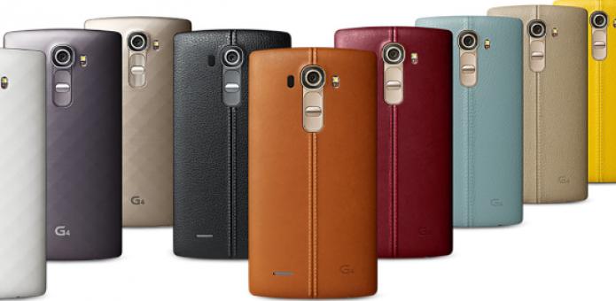 LG G4 permitirá personalização de sua tampa traseira com materias como Couro e Policarbonato (Foto:Reprodução/@evleaks)